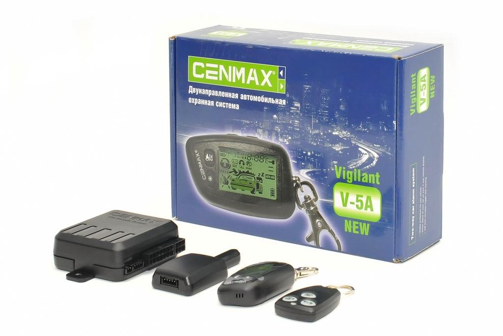 Сигнализация Cenmax V-5a Инструкция По Применению - фото 5